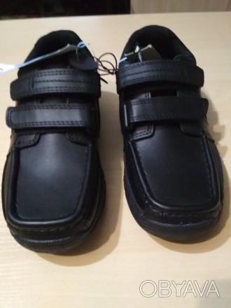 Кожаные туфли George p. 31 ( стелька 19 см ). Носок укреплён дополнительным слое. Чернигов, Черниговская область. фото 1