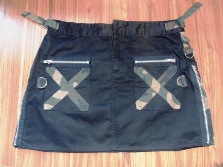 юбка в стиле милитари Life & Legend, размер М. Черкассы. фото 1
