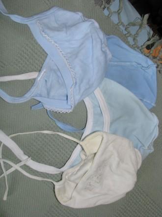 Шапочки для новорожденного. Чернігів. фото 1