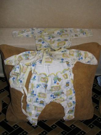 Комплект для новорожденного. Чернигов. фото 1