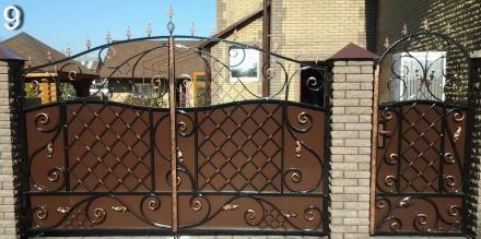 Кованые ворота,калитки. Кривой Рог. фото 1