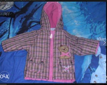 Курточка деми на 12-18-24 мес. Бердянск. фото 1