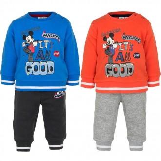 утепленный костюм двойка малыш, штаны, кофта, начес, Disney, Mickey, Германия,. Винница. фото 1