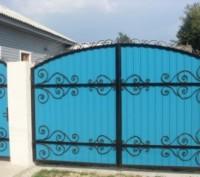 Наше производство предлагает кованые ворота и калитки от производителя под заказ. Кривой Рог, Днепропетровская область. фото 3