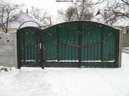 Наше производство предлагает кованые ворота и калитки от производителя под заказ. Кривой Рог, Днепропетровская область. фото 7