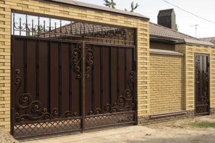 Наше производство предлагает кованые ворота и калитки от производителя под заказ. Кривой Рог, Днепропетровская область. фото 5