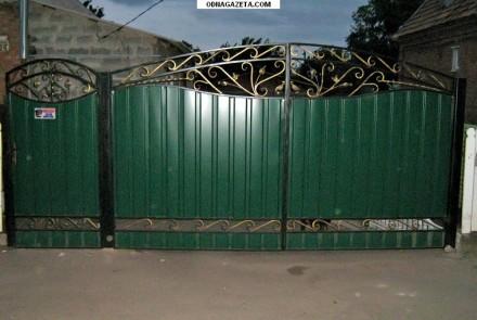 Наше производство предлагает кованые ворота и калитки от производителя под заказ. Кривой Рог, Днепропетровская область. фото 6