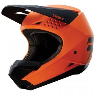 НОВЫЙ Мотошлем SHIFT Whit3 Orange/Мото шлем SHIFT/Шлем кроссовый/Эндуро/ATV. Киев. фото 1