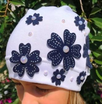 шапка демисезон для девочки. Бахмут (Артемовск). фото 1
