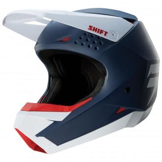 НОВЫЙ Мотошлем SHIFT Whit3 Navy/Мото шлем SHIFT/Шлем кроссовый/Эндуро/ATV. Киев. фото 1