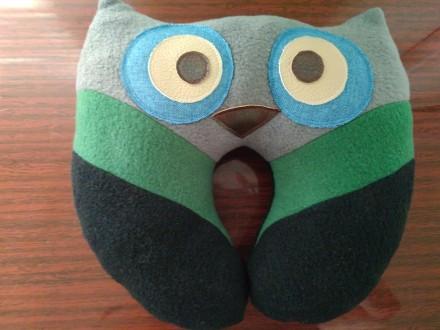 Подушка для туристов, подушка под шею. Запорожье. фото 1