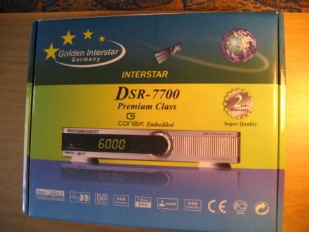 Golden Interstar DSR 7700 Premium Class - цифровой спутниковый ресивер. Долинская. фото 1