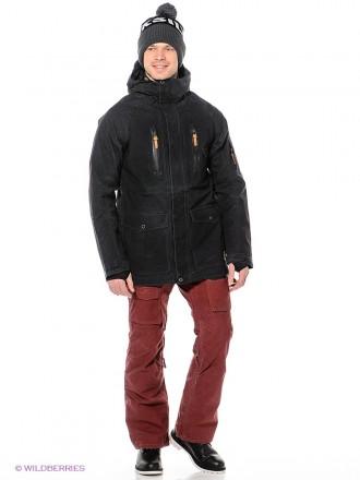 Мужская сноубордическая горнолыжная куртка Quiksilver премиум класса из зимней т. Киев, Киевская область. фото 6