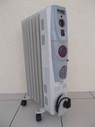 Масляный радиатор TRION TR-8682 1800Вт 7 секций с вентилятором.. Северодонецк. фото 1