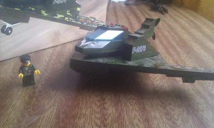 Лего Brick Военный самолет (большой). Мелитополь. фото 1