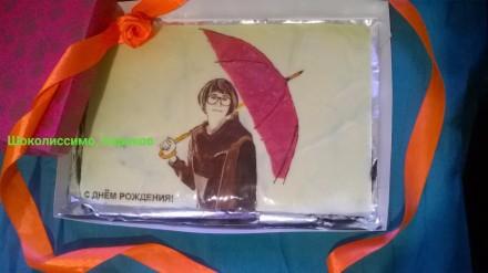 Изготовления портретов с шоколада. Харьков. фото 1