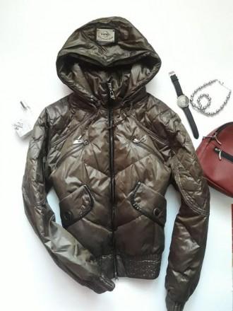 Курточка  з капюшоном clasna  p. m,l. Львов. фото 1