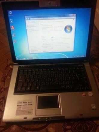 Производительный ноутбук Asus F5SL в хорошем состоянии. Киев. фото 1
