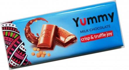 Шоколад YUMMY 285г. ОПТ.. Тернополь. фото 1