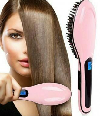 Электрическая расческа-выпрямитель fast hair. Львов. фото 1