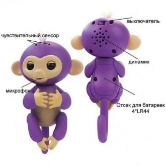Новинка! Обезьянки FingerLings, интерактивная игрушка, отличный подарок. Одесса. фото 1
