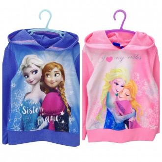 Кофта с капюшоном, худи для девочки, Disney, Frozen. Винница. фото 1
