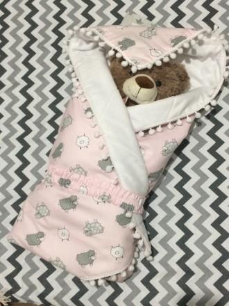 Детское одеялко-конверт от BabyDream. Кривой Рог. фото 1