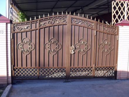 Ворота распашные,раздвижные. Кривой Рог. фото 1