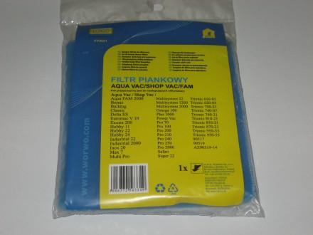 Поролоновый фильтр пылесоса Zelmer AQUA FPA01. Львов. фото 1
