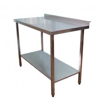 Виробничій стіл із нержавіючої сталі для їдальні 1000*600*850. Киев. фото 1