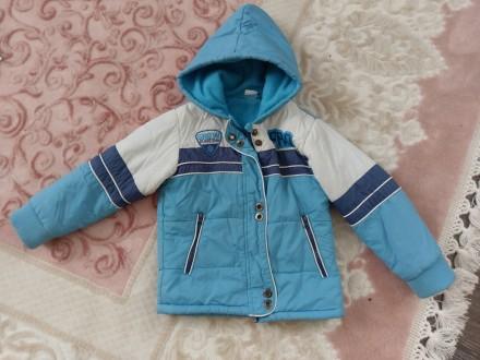 Детская куртка на мальчика 98 р 3-4 года. Чугуев. фото 1