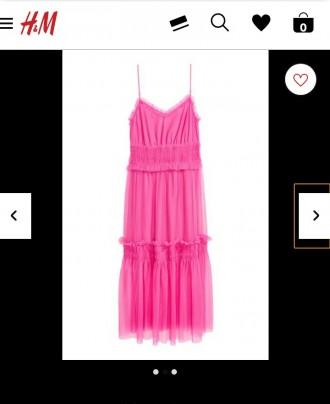 Платье НМ розовое. Бердянск. фото 1