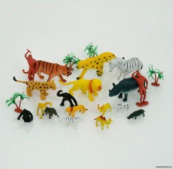 Набор диких животных А 582. Чернигов. фото 1