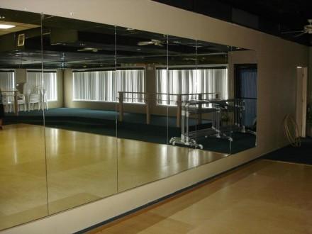 Зеркало для спортзала,тренажерных залов,фитнес зала. Киев. фото 1