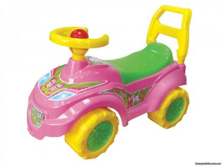 Каталка толокар Принцесса/ Автомобіль для прогулянок рожевий. Чернігів. фото 1
