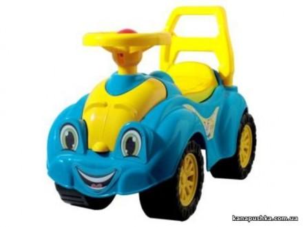Каталка толокар / Автомобіль для прогулянок блакитний. Чернигов. фото 1