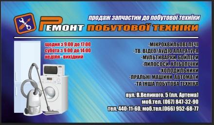 ПИКО СЦ- запасные части для бытовой техники. Кривой Рог. фото 1