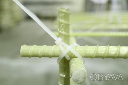 Композитная арматура — неметаллические стержни из стеклянных, базальтовых, углер. Одесса, Одесская область. фото 1