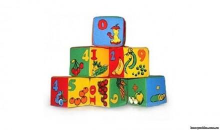 Набор кубиков. Украинский алфавит. Розумна іграшка /Цифры и математика. Чернигов. фото 1