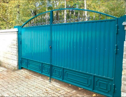 Монтаж ворот,калиток. Кривой Рог. фото 1