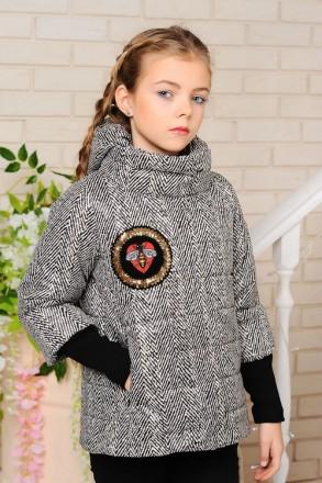 Весенняя куртка для девочек 122-152р.. Энергодар. фото 1