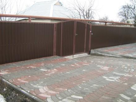 Реставрация ворот,калиток. Кривой Рог. фото 1
