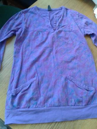 Продается трикотажная блуза 100% коттон. Киев. фото 1