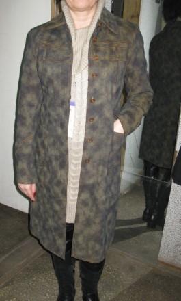 новий джинсовий плащик з дуже теплою підкладкою з байки, прикрашений хутром норк. Черкассы, Черкасская область. фото 2