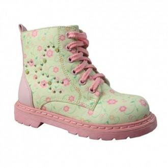 Шикарные деми ботиночки B&G. Сумы. фото 1