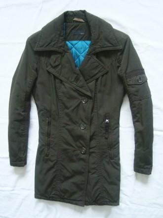 новая стильная куртка парка цвета хаки размер 48-50 7b8e84ff74763
