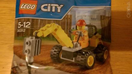 Lego City Polybag НОВЫЙ 30312 лего оригинал. Киев. фото 1