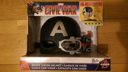 Шлем с ночным видением Marvel Captain America Avengers Hasbro. Киев. фото 1
