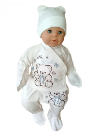 Набор детский для новорожденного интерлок. Днепр. фото 1