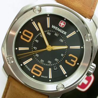 Швейцарские часы Wenger Escort цвет TAN (оригинал). Киев. фото 1